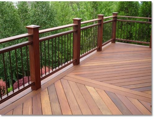 Custom decks for What is the best wood for decking