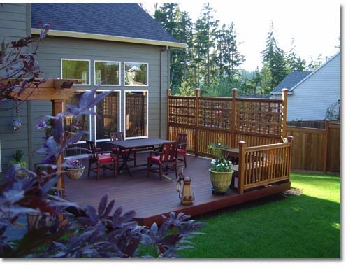 Privacy screens for Backyard patio privacy ideas
