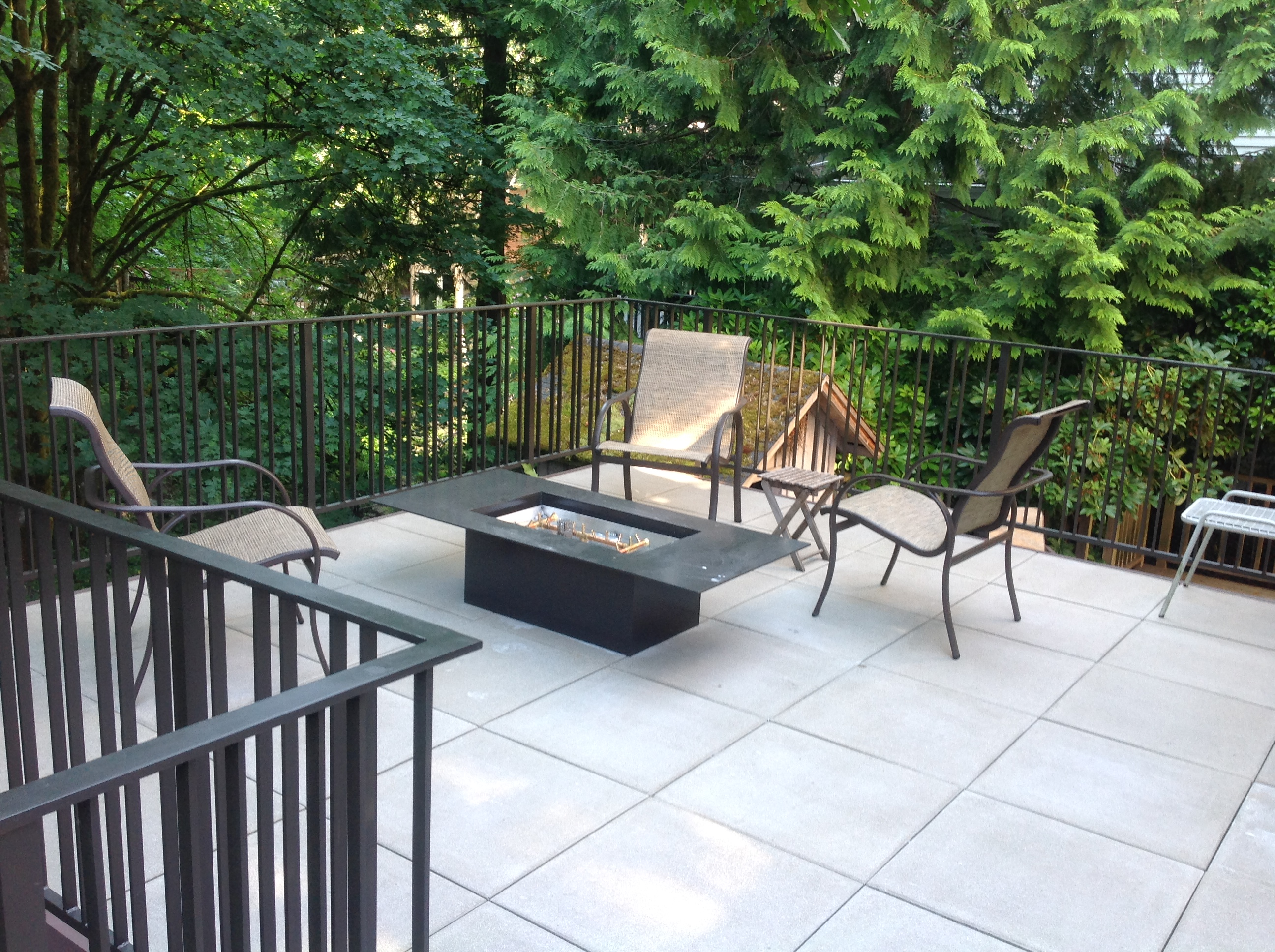 Elevated Paver Deck In West Hills