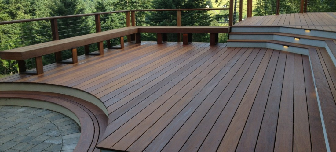 Curved Ipe Deck In Damascus Or Portland Deck Builder