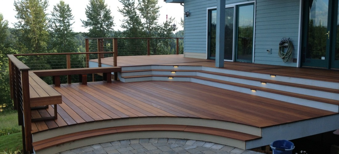 Deck Bench With Planter