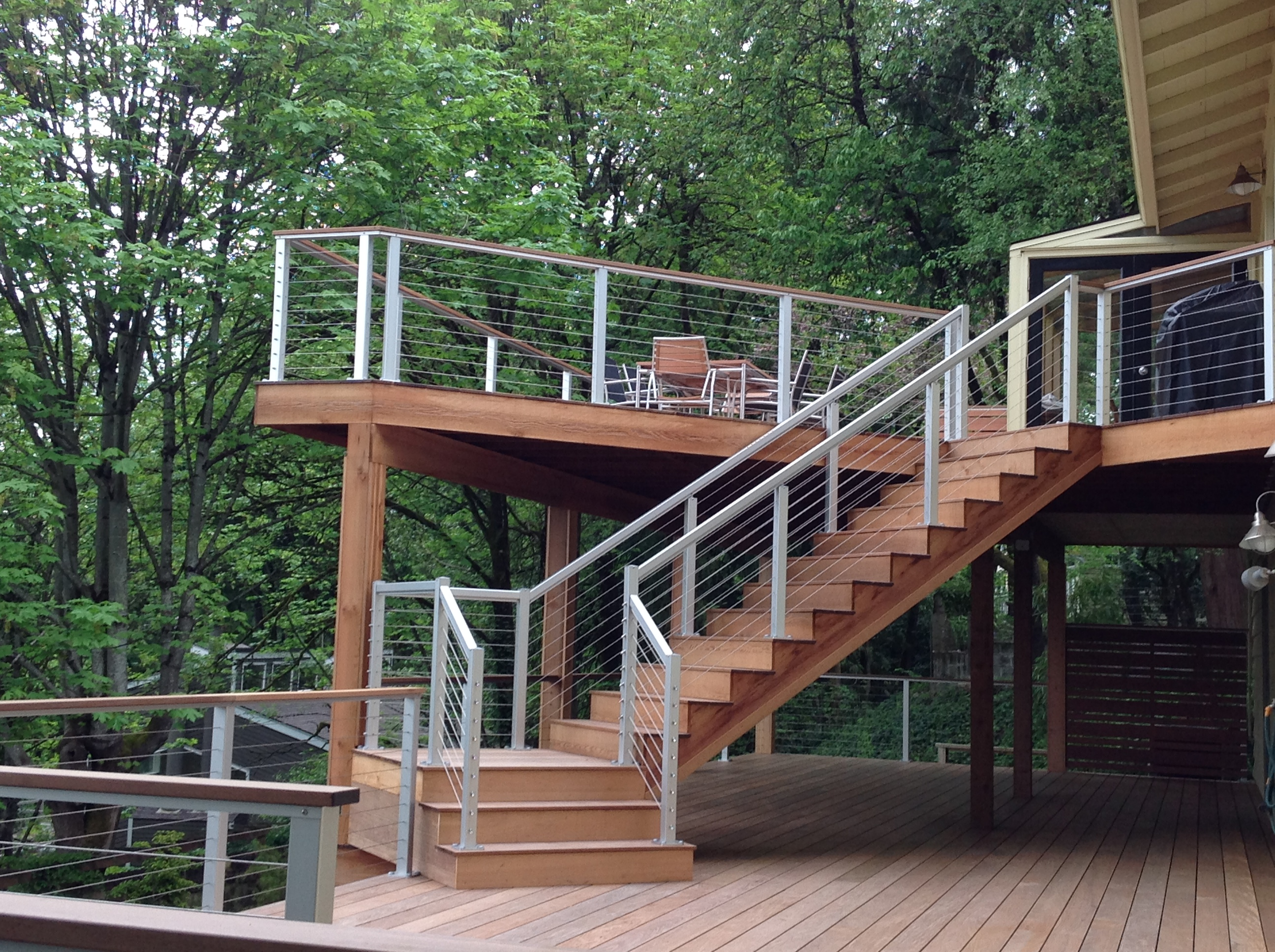 Nice Aluminum Deck Railing Home Design 1078