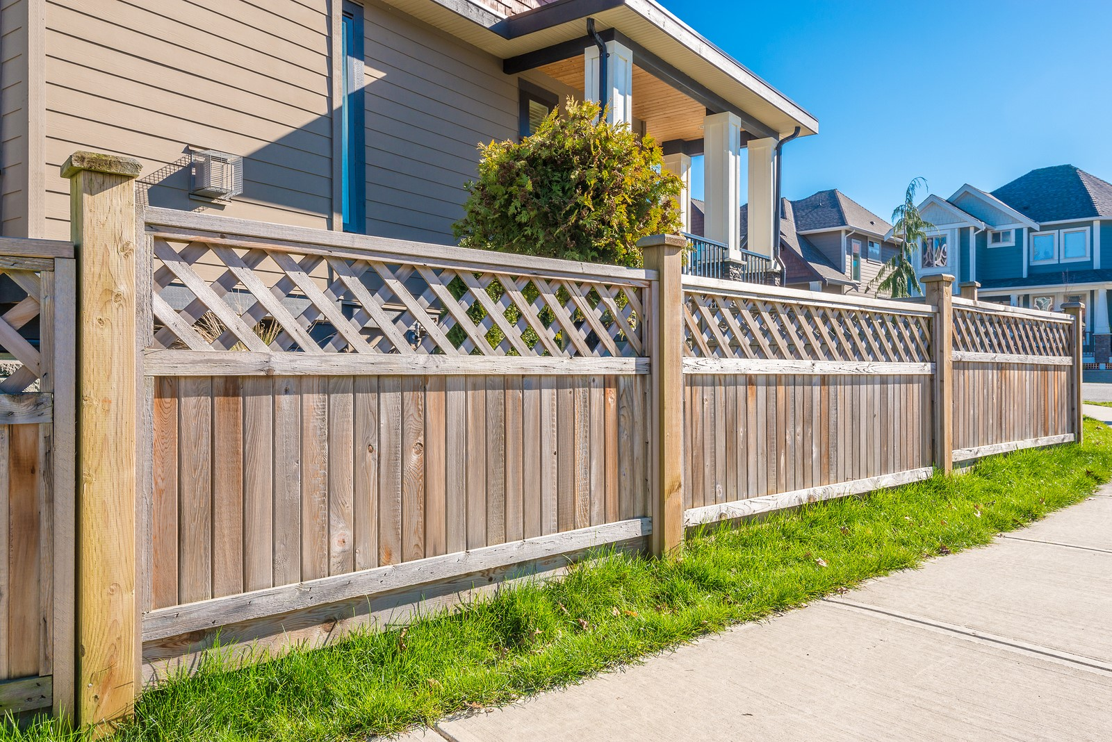 Put Up Fencing around Your Own Property